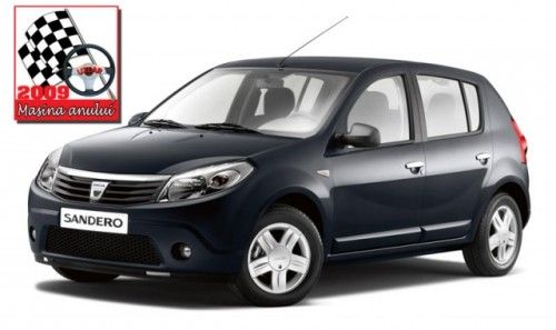 Dacia Sandero este Masina Anului 2009 in Romania!2653