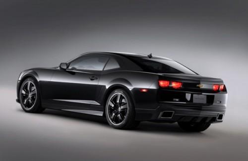 Chevrolet Camaro Black Concept - 1,2,3,4... STOP!2496