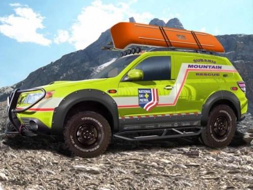 Subaru Forrester Mountain Rescue - Salvamontul motorizat!2383