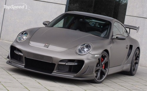Techart GTstreet R bazat pe Porsche 911 Turbo2345