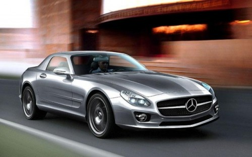 Mercedes SLC Gullwing - Speculatii in toi2277