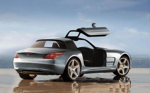 Mercedes SLC Gullwing - Speculatii in toi2278