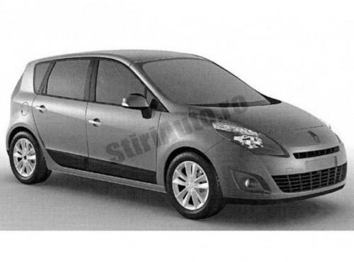 Primele imagini cu noul Renault Scenic2141