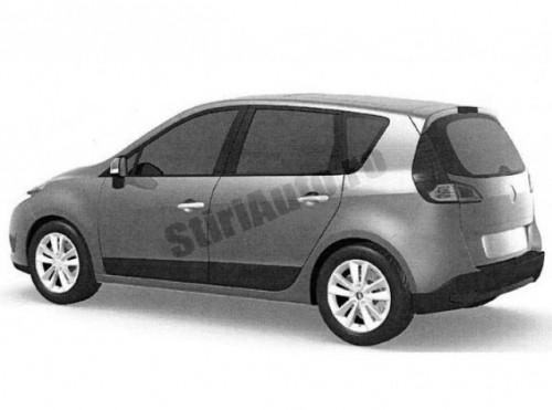 Primele imagini cu noul Renault Scenic2143
