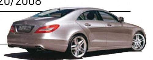 2011 Mercedes CLS - Reperat de pe acum1979