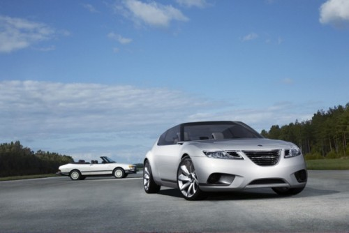 Saab 9-X Air Convertible - Cu parul in vant!1810