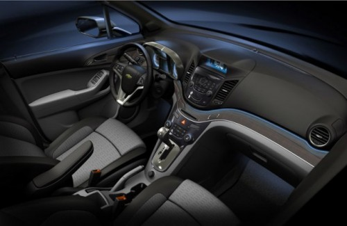 Chevrolet Orlando - Un alt concurent pe scena pariziana!1681