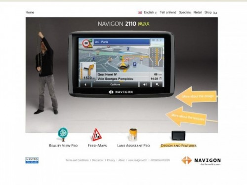 Navigon - O noua stacheta a miniaturizarii1252