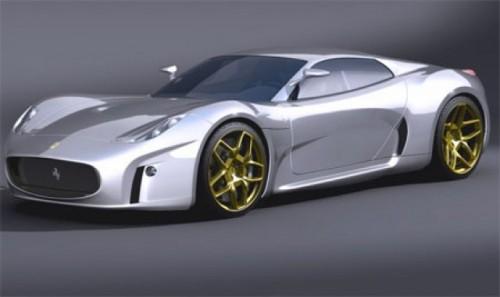 Ferrari Concept 2008 - Retro modern1228