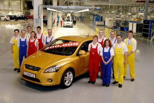 Productia de Kia cee'd a depasit 200.000 de unitati1122