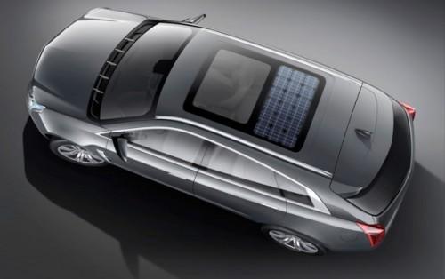 Cadillac Provoq - Un SUV verde1050