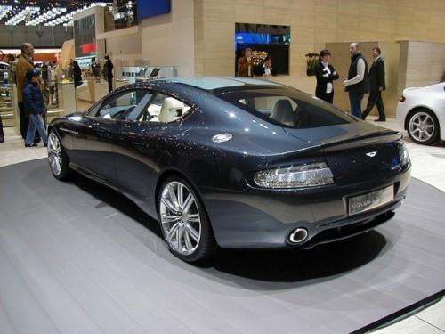 Aston Martin Rapide - La jugulara Porsche1021