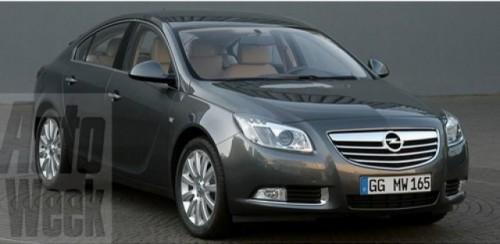 Primele imagini cu Opel Insignia 2009930