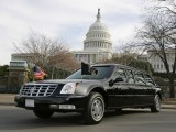 Limuzina lui Bush, escortata de cele mai mari SUV-uri din lume907