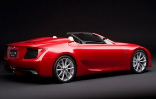 Lexus LF-A Roadster - Copilul Elegantei si al Performantei394