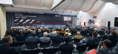 Centrul de formare profesionala SEAT aniverseaza 50 de ani.236