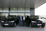 Gheorghe Hagi si Ilie Nastase, la volanul noului BMW X5158