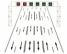 Dispozitive luminoase pentru dirijarea circulatiei pe benzi reversibile