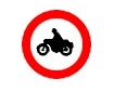Accesul interzis ciclomotoarelor