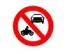 Accesul interzis autovehiculelor