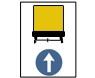 Directia obligatorie pentru vehiculele care transporta marfuri periculoase