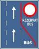 Banda rezervata circulatiei mijloacelor de transport in comun