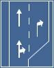 Selectarea circulatiei pe directii de mers in apropierea intersectiei
