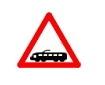 Trecere la nivel cu linii de tramvai