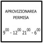 Intervalele de timp in care este permisa stationarea vehiculelor ce efectueaza aprovizionarea