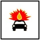Vehicule care transporta substante explozive sau usor inflamabile