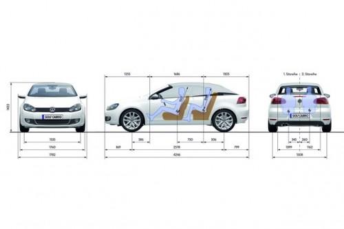 Volkswagen Golf Cabriolet, detalii si foto oficiale46485