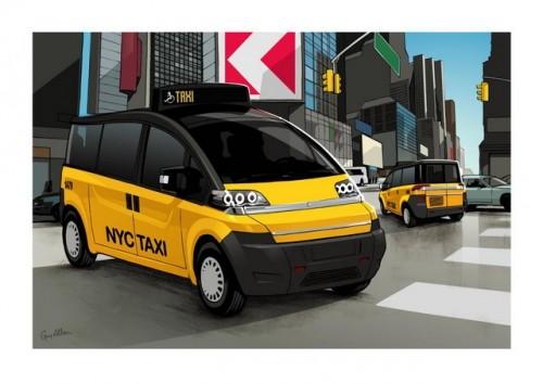 NY Taxi made in Turcia46091