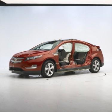 Chevrolet Volt si Nissan Leaf sunt cele mai sigure vehicule electrice, potrivit IIHS.45988