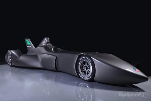 Delta wing concept sportcar