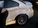 BMW M1 accident 4