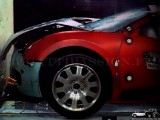 Bugatti veyron crash test