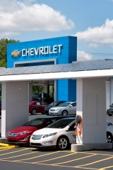 Chevrolet solar power