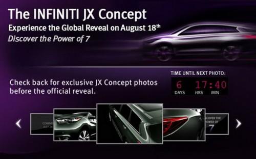 Infiniti JX poza 5