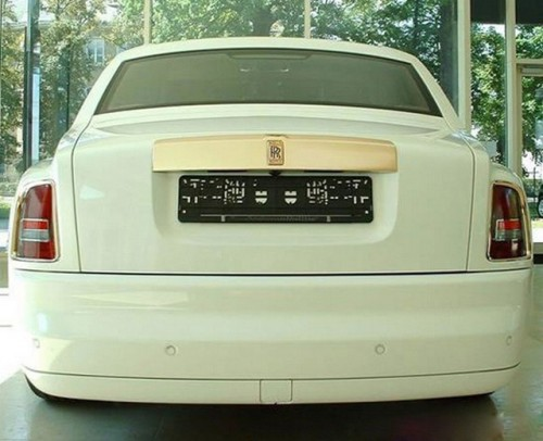 Rolls Royce blindat aurit