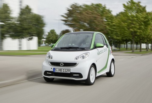 Smart ForTwo Electric Drive 2012