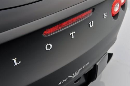 Lotus exige Black matte