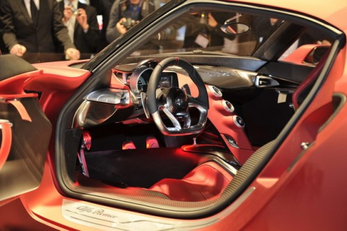 Alfa Romeo 4C - Frankfurt 2011