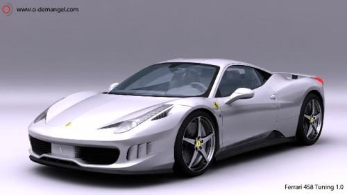 Ferrari 458 italia- Olivier Demagel
