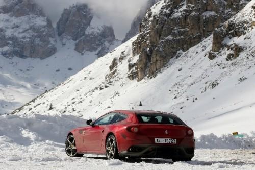 Ferrari FF, program de condus