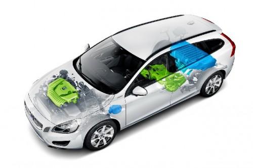 Volvo V60 Pug-in diesel