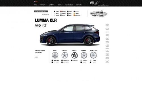 Porsche cayenne lumma design configurator