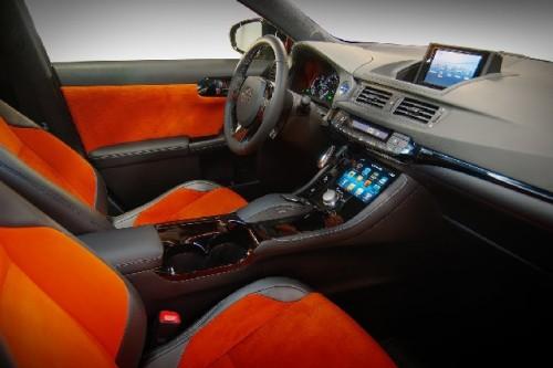 Lexus CT 200h tunat de Five axis