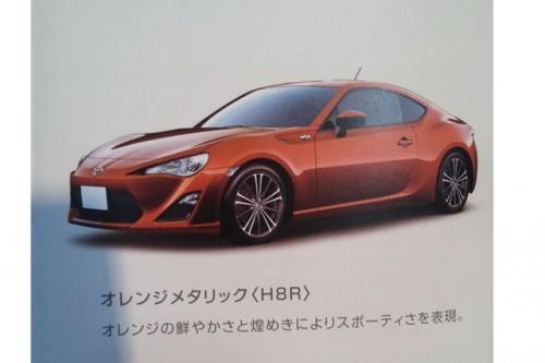 brosura Toyota FT-86