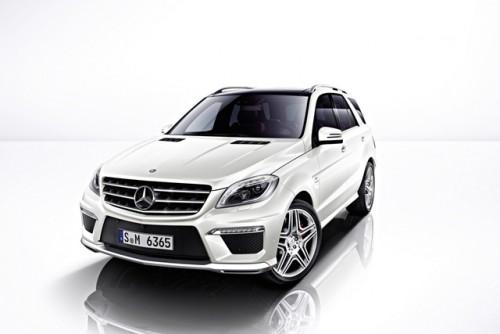 Noul Mercedes ML63
