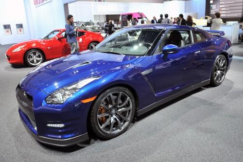 LA Auto Show: Nissan GT-R